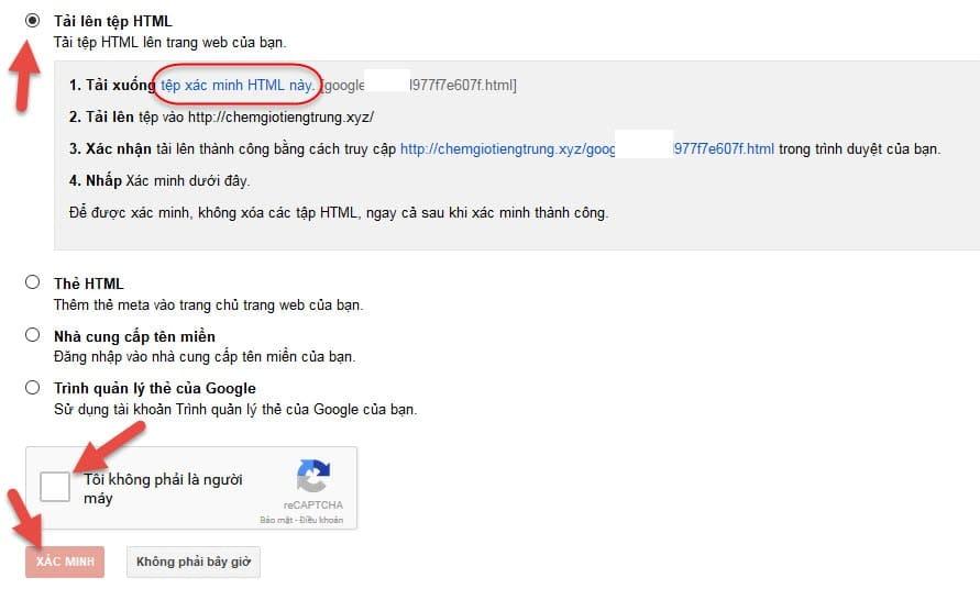 hướng dẫn tự cài đặt google webmaster tools vao wordpress hinh 3 - hoangbcs.com