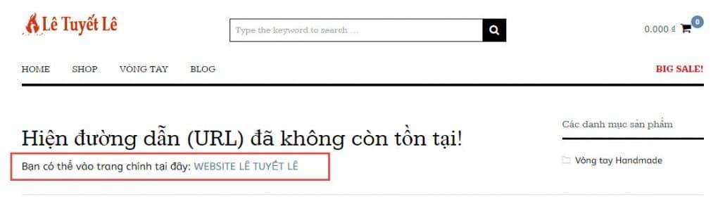 tao trang 404.php cho loi error 404 - hoangbcs.com