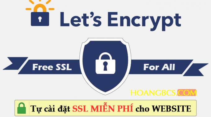 Tự cài đặt Let's Encrypt SSL miễn phí trên VPS có DirectAdmin