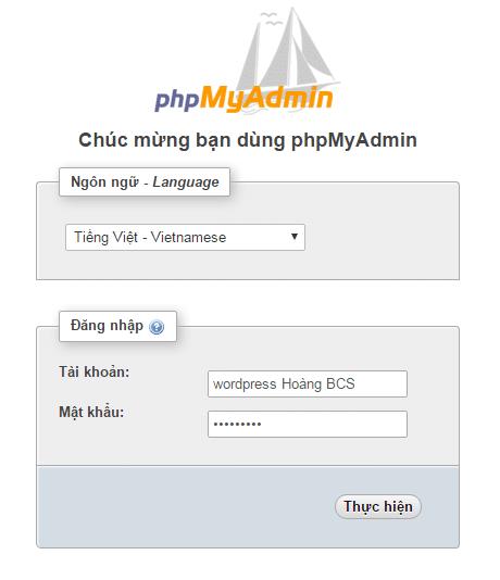 cai dat phpmyadmin thang cong tren lemp vps cenots hoangbcs.com