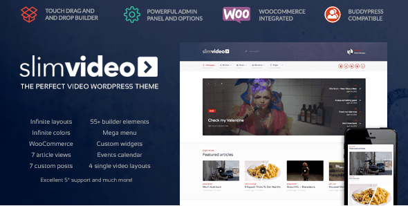 Slimvideo WordPress