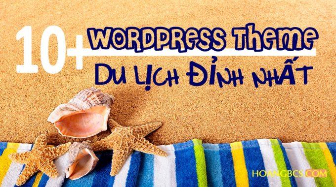 10+ WordPress Theme du lịch đỉnh nhất 2017