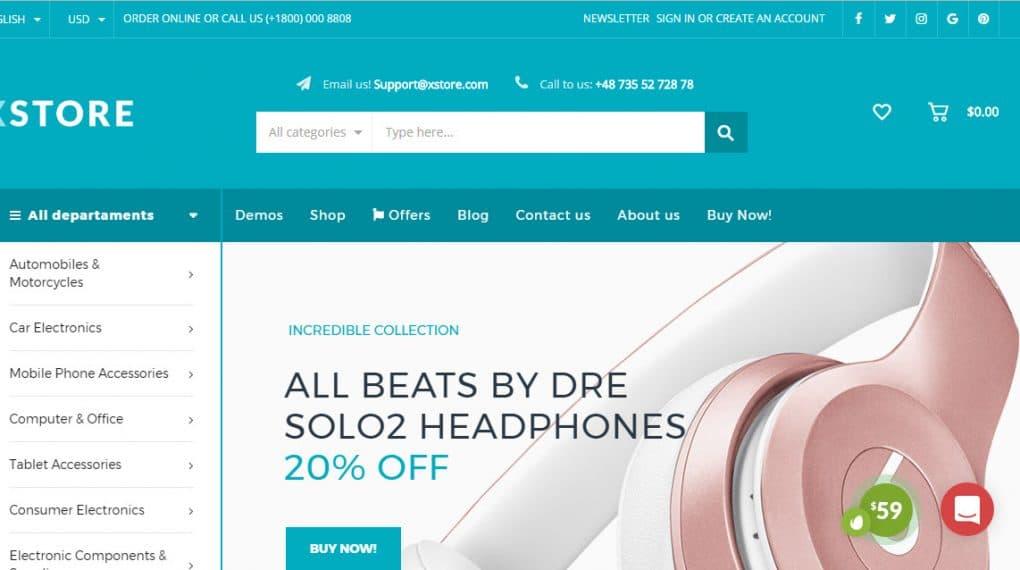 bán hàng với theme wordpress chuẩn seo hỗ trợ tiếng việt full