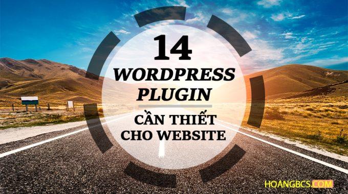 14 Plugin cần thiết cho website Wordpres năm 2017