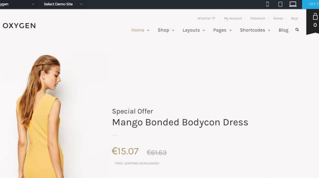 theme bán hàng online chuẩn onpage
