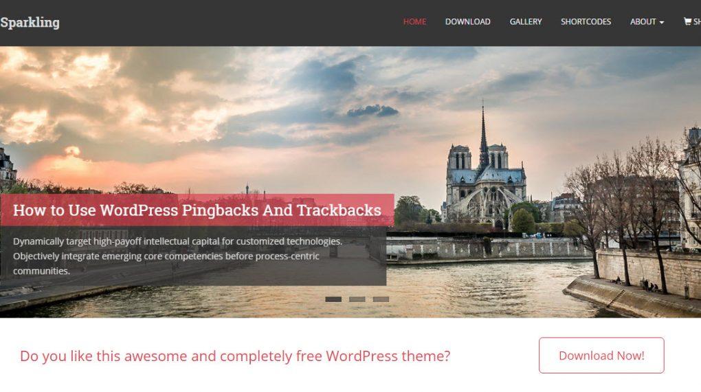 wordpress theme du lịch miễn phí