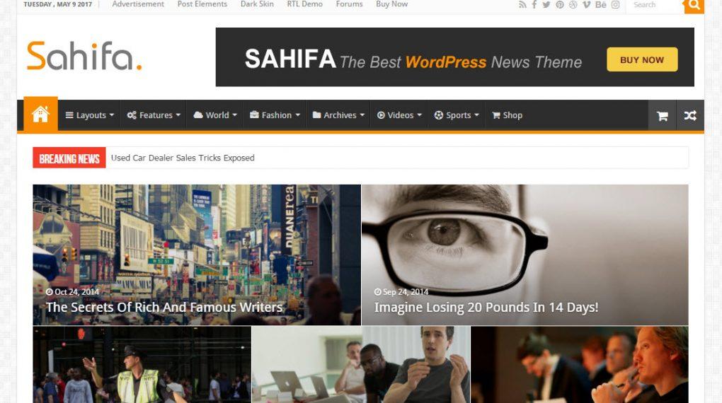 những theme wordpress làm web tin tức đáng mua nhất