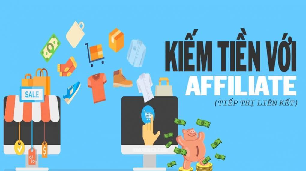 những hình thức kiếm tiền online với affiliate marketing