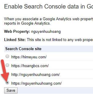 cách chuyển từ HTTP sang HTTPS trên google analytics