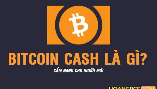 Cẩm nang Bitcoin Cash dành cho người mới