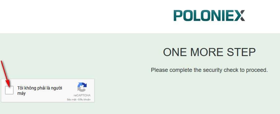 hướng dẫn đăng ký tài khoản trên sàn poloniex