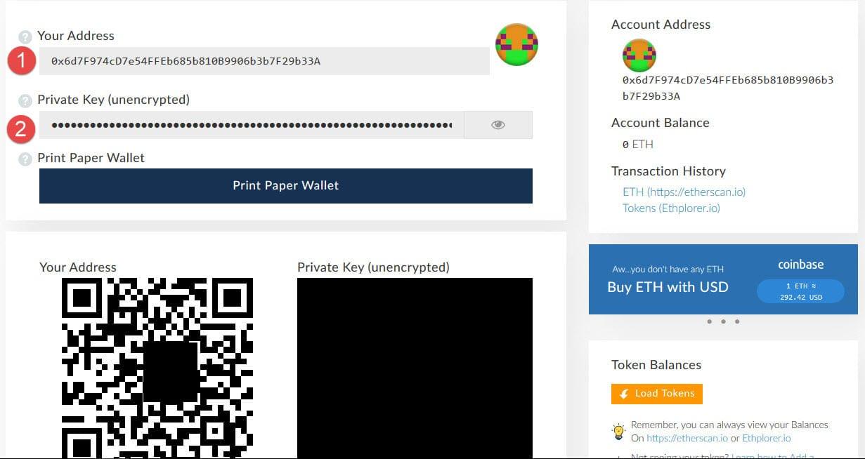 hướng dẫn sử dụng ví myetherwallet mua token ICO đơn giản