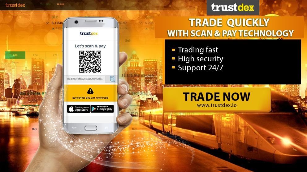 sàn giao dịch tiền ảo trustdex tại việt nam