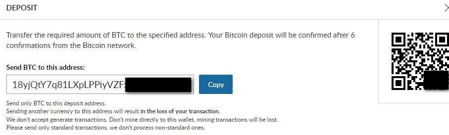 cách xác thực ví bitcoin trên sàn livecoin