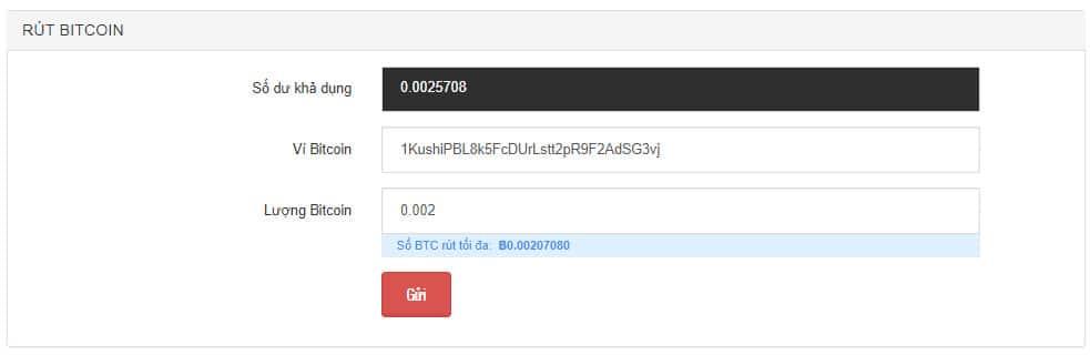 chuyển bitcoin từ remitano sang sàn Kucoin