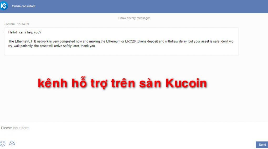 sàn kucoin và những lưu ý quan trọng khi nhờ hỗ trợ trên sàn Kucoin