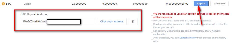 cách nạp tiền vào tài khoản trên sàn giao dịch bibox