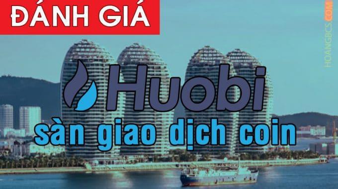 Hướng dẫn đăng ký sàn giao dịch coin Huobi