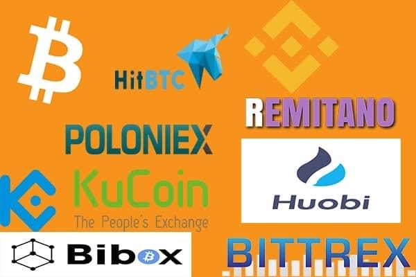 ví sàn giao dịch nơi lưu trữ bitcoin altcoin token