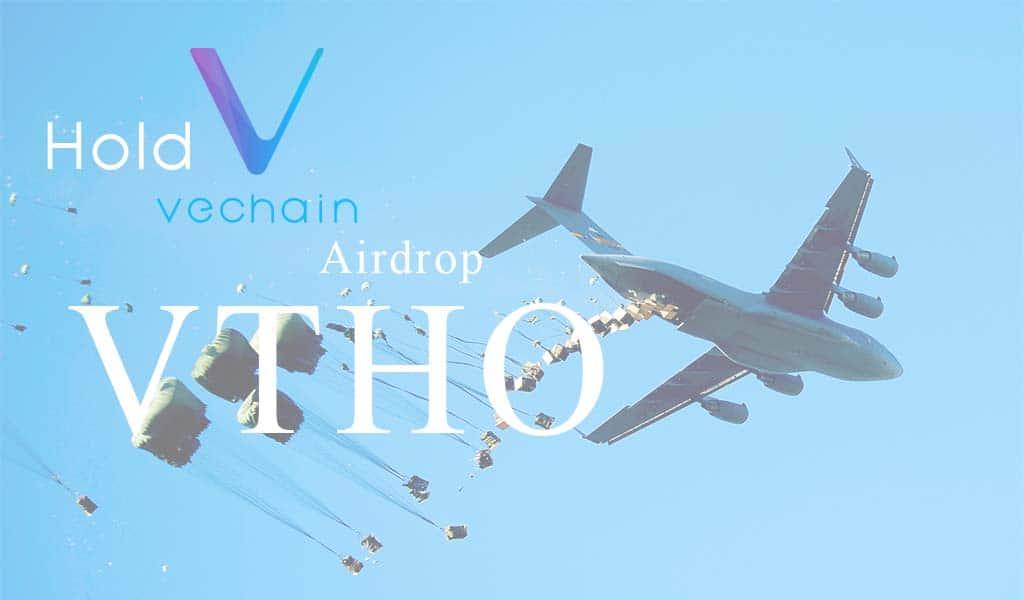 Airdrop đồng VTHO khi Hold VET (VEN) trên sàn Binance