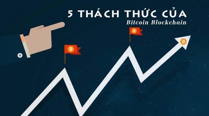 Vượt chướng ngại vật 5 thách thức của Bitcoin Blockchain