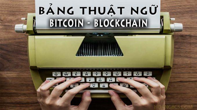 Bảng thuật ngữ Blockchain cơ bản cho người mới