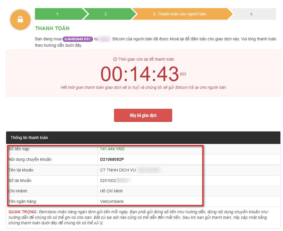 hướng dẫn thực hiện mua bán bitcoin trên sàn remitano nhanh chóng