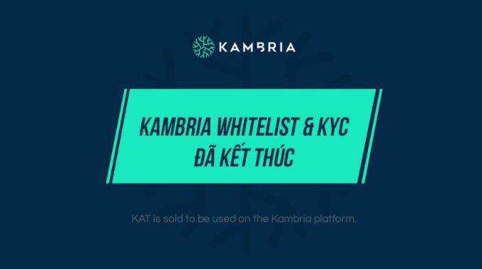 Hướng dẫn Pre-sale Kambria Token (KAT)