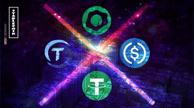 4 Stablecoin vốn hóa lớn nhất thị trường Crypto