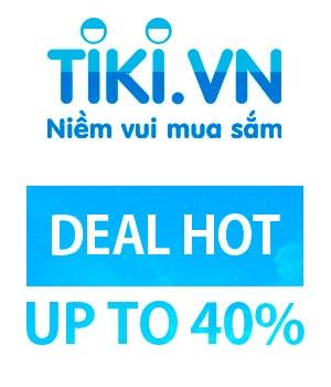 Deal sản phẩm hot trên Tiki