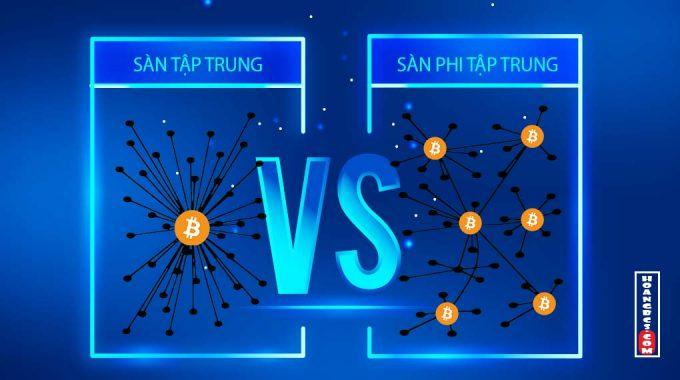 Phân biệt sàn giao dịch bitcoin tập trung & phi tập trung