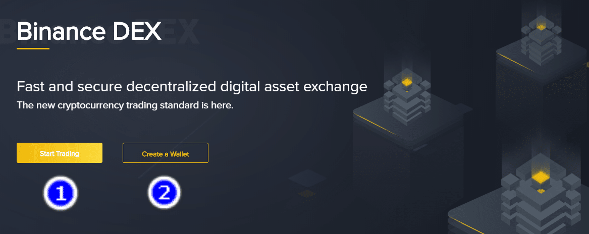 sàn binance dex