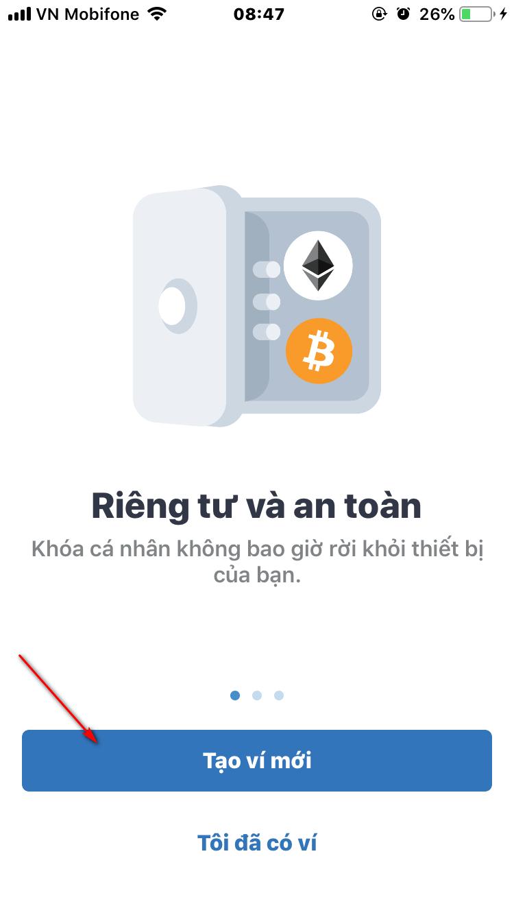 Giới thiệu ví trust wallet